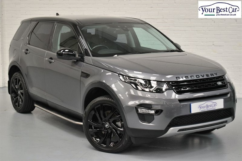 used Land Rover Discovery Sport SD4 HSE (CLIMATE SEATS+HEATED STEERING+BLACK ROOF+BLACK MIRRORS) in cranbrook-common-kent