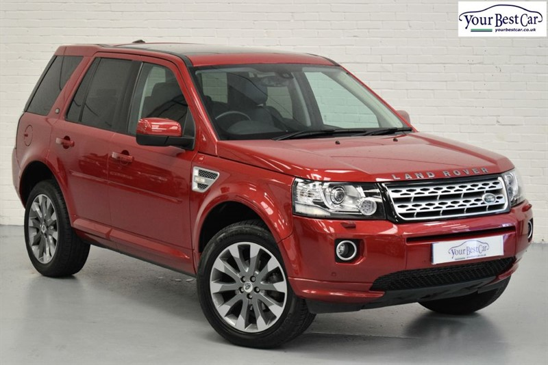 used Land Rover Freelander SD4 HSE LUXURY (R/CAMERA+NAV+TOW PACK+BI-XENONS) in cranbrook-common-kent