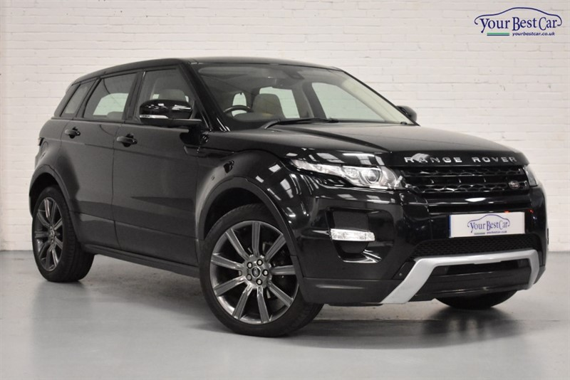 used Land Rover Range Rover Evoque SD4 DYNAMIC LUX in cranbrook-common-kent