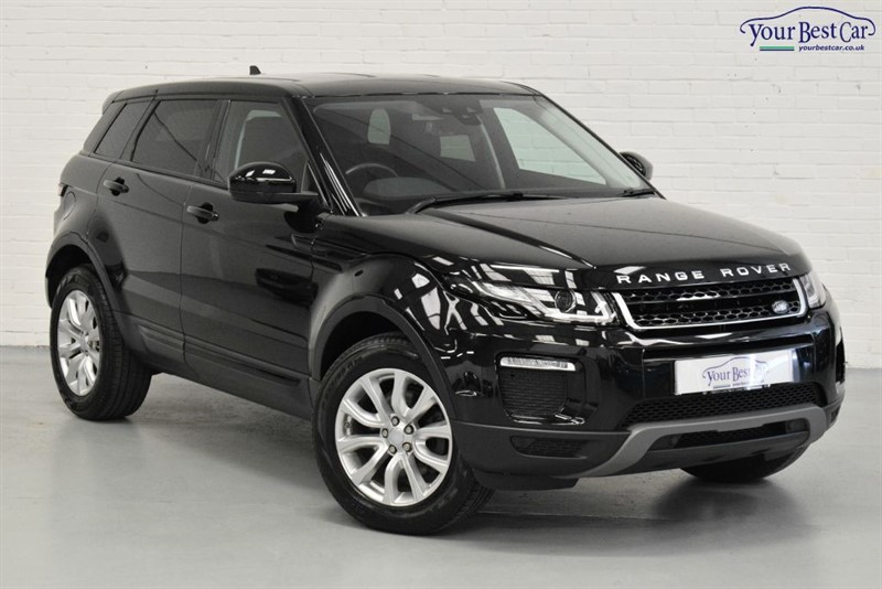 used Land Rover Range Rover Evoque TD4 SE TECH (SAT NAV+LANE DEPARTURE WARNING+ONE OWNER) in cranbrook-common-kent