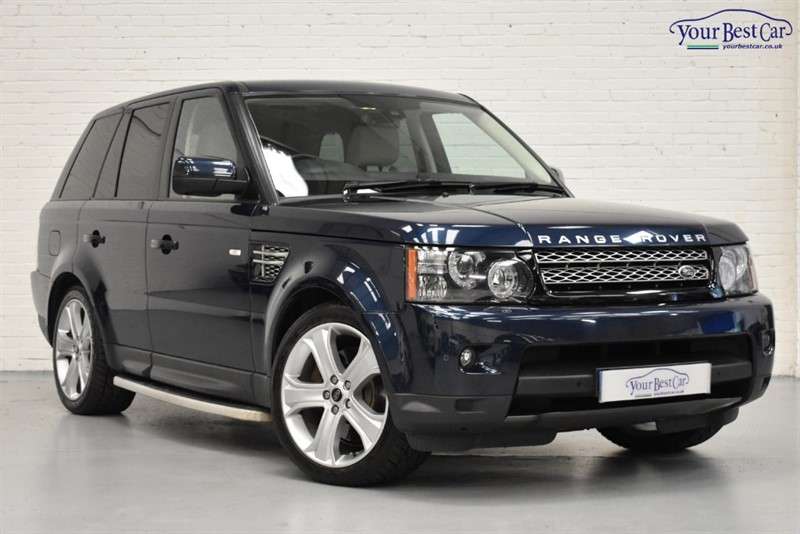 used Land Rover Range Rover Sport SDV6 HSE BLACK in cranbrook-common-kent