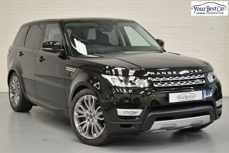 used Land Rover Range Rover Sport SDV6 HSE (KEYLESS ENTRY+REVERSE CAMERA+NAVIGATION+DAB+5 YEAR SERVICE PACK) in cranbrook-common-kent