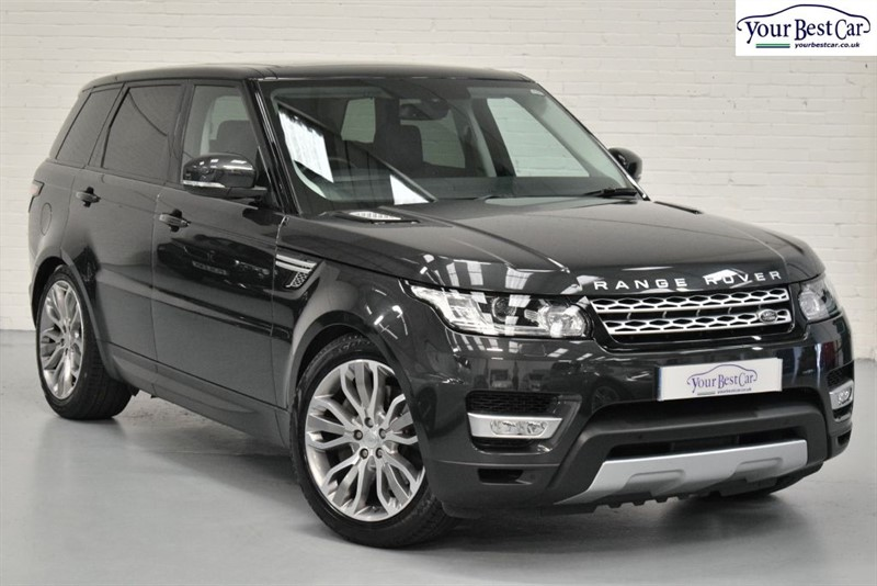 used Land Rover Range Rover Sport SDV6 HSE (PANORAMIC SUNROOF+PRIVACY GLASS+ONE OWNER) in cranbrook-common-kent