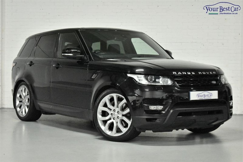 "used Land Rover Range Rover Sport SDV6 HSE DYNAMIC (PAN ROOF+ADPATIVE CRUISE+22"" ALLOYS) in cranbrook-common-kent"