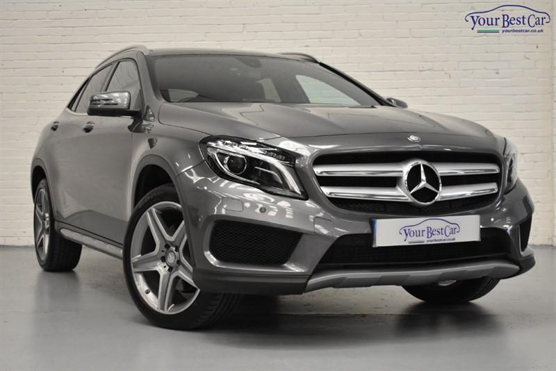 used Mercedes GLA220 GLA  D 4MATIC AMG LINE PREMIUM PLUS in cranbrook-common-kent