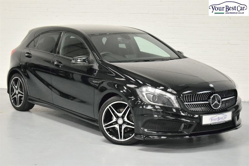used Mercedes A200 CDI AMG NIGHT EDITION in cranbrook-common-kent