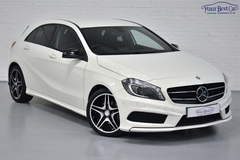 used Mercedes A200 CDI AMG SPORT (NIGHT PACK+AMG PACK+HEATED SEATS+1 OWNER) in cranbrook-common-kent
