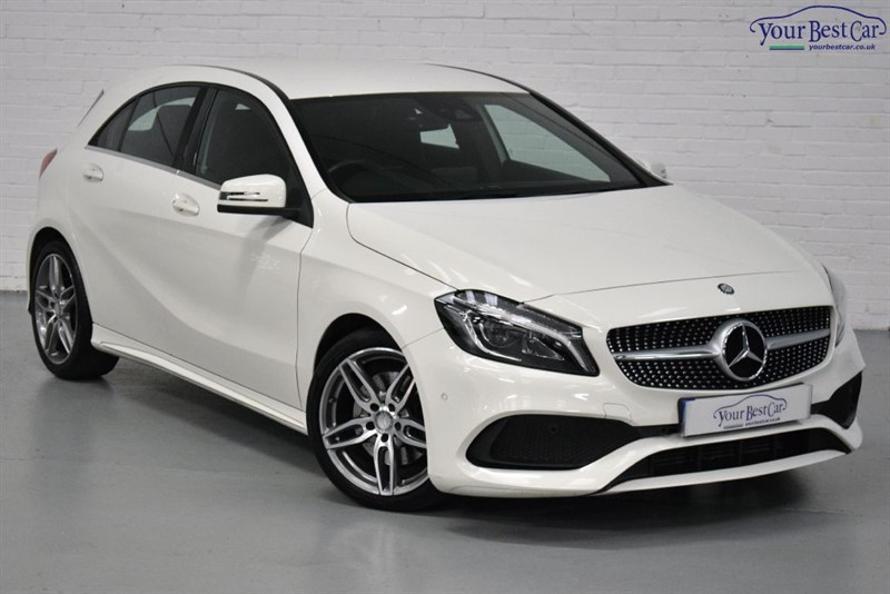 used Mercedes A220 A-CLASS A 220 D AMG LINE PREMIUM in cranbrook-common-kent