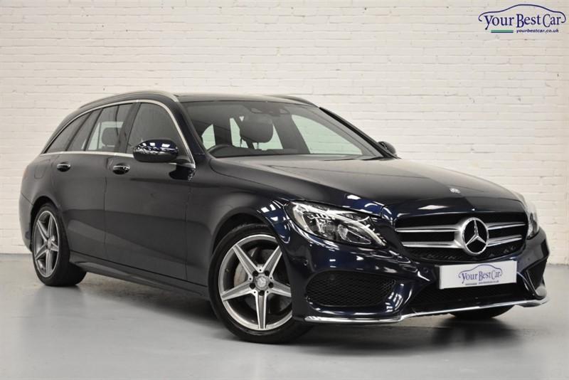 used Mercedes C250 D AMG LINE PREMIUM PLUS in cranbrook-common-kent