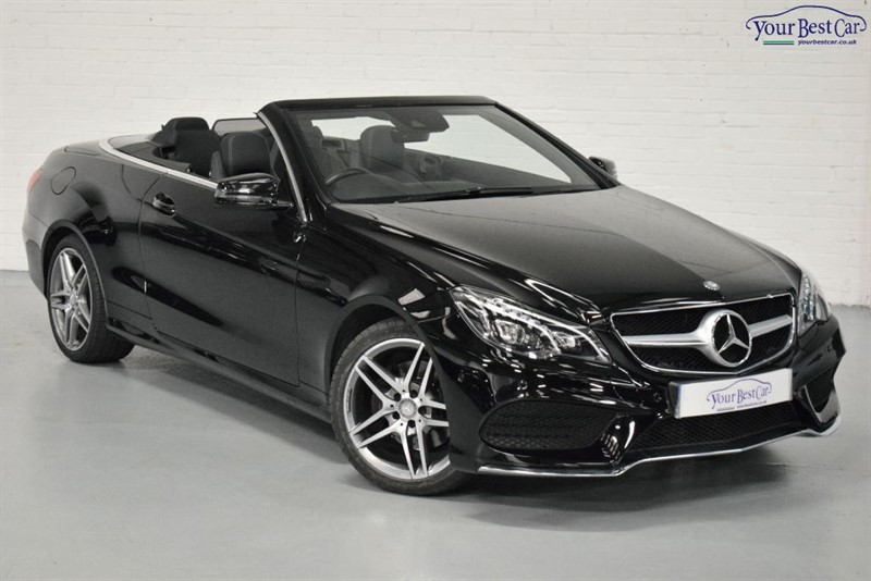used Mercedes E220 BLUETEC AMG LINE (ADAPTIVE LIGHTS+FULL MERCEDES HISTORY+AIR SCARF) in cranbrook-common-kent