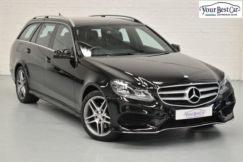 used Mercedes E220 BLUETEC AMG LINE (COMMAND+NAV+H/SEATS+1OWNER) in cranbrook-common-kent
