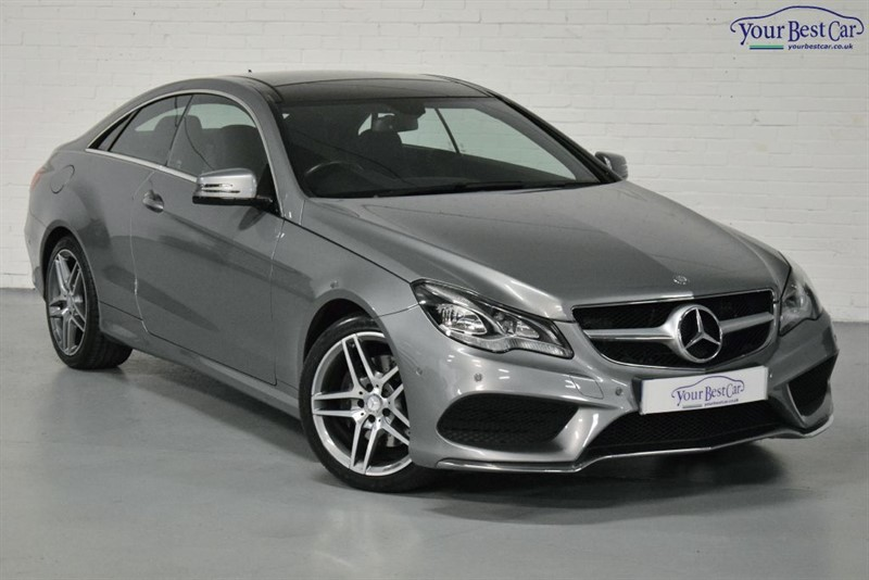 used Mercedes E350 BLUETEC AMG SPORT (PANORAMIC SUNROOF) in cranbrook-common-kent
