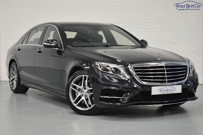 used Mercedes S500 L AMG LINE (KEYLESS GO+PANORAMIC ROOF+A1 EXAMPLE+1 PRIVATE OWNER) in cranbrook-common-kent