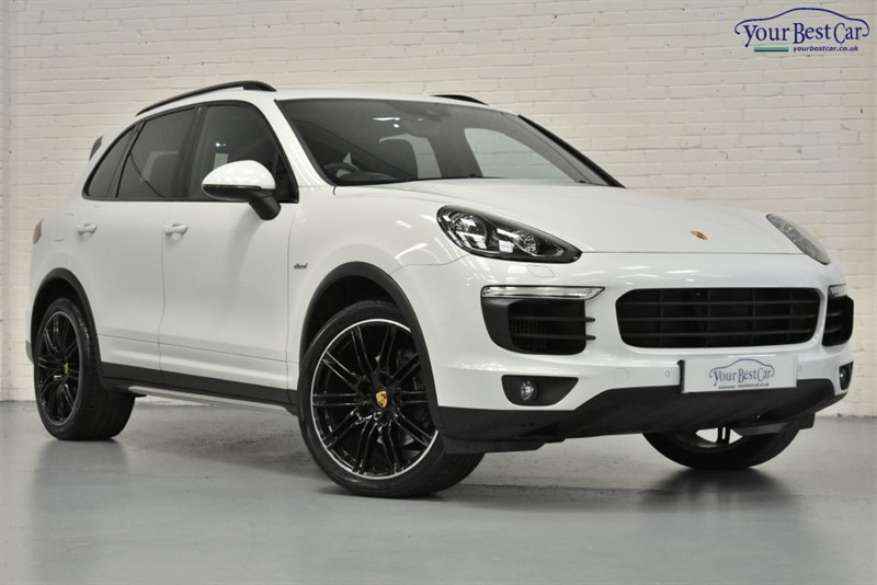 used Porsche Cayenne D V6 TIPTRONIC S (1 OWNER+£14,000 OF PORSCHE FACTORY OPTIONS ADDED) in cranbrook-common-kent