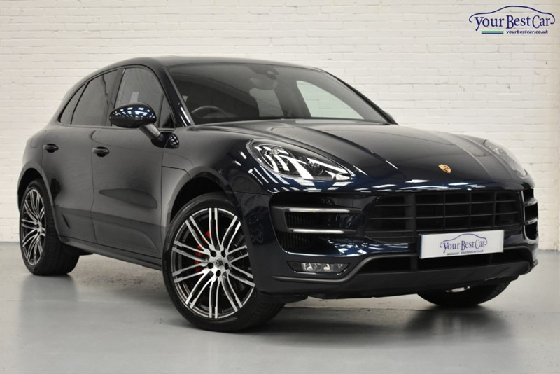 used Porsche Macan TURBO PDK in cranbrook-common-kent