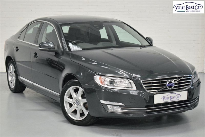 used Volvo S80 D4 SE LUX in cranbrook-common-kent