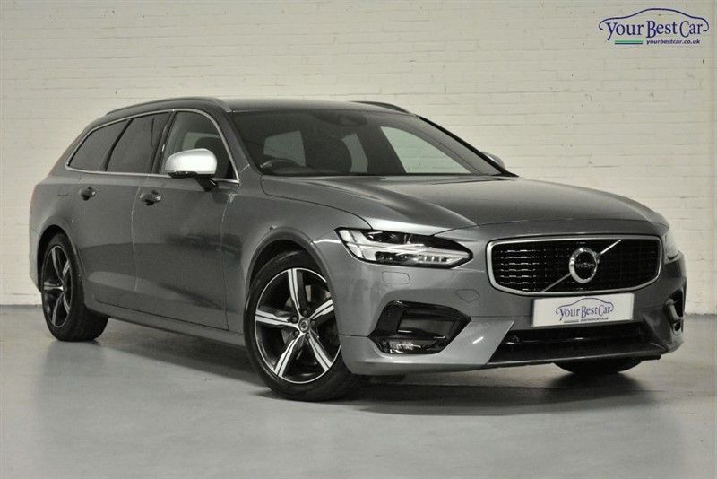 used Volvo V90 D5 POWERPULSE R-DESIGN PRO AWD (WINTER PACK+HEATED STEERING+KEYLESS) in cranbrook-common-kent