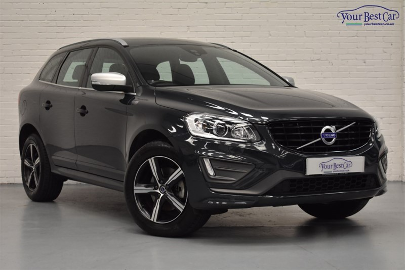 used Volvo XC60 D4 R-DESIGN LUX NAV AWD in cranbrook-common-kent