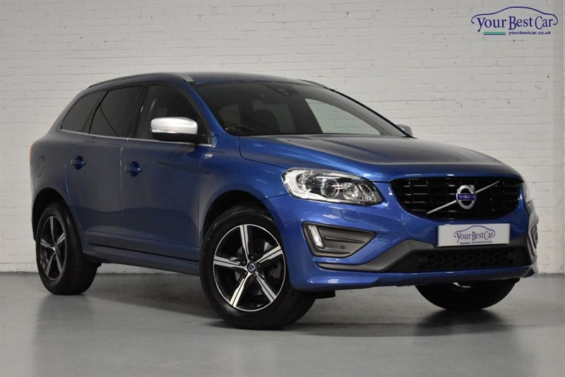 used Volvo XC60 D5 R-DESIGN LUX NAV AWD in cranbrook-common-kent