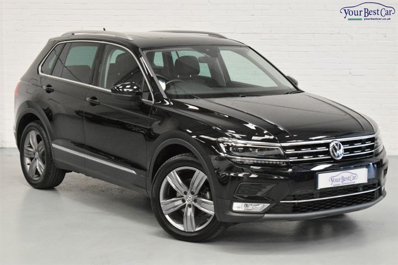used VW Tiguan SEL TDI BMT 4MOTION DSG (PAN ROOF+4MOTION+ADAPTIVE HEADLIGHTS) in cranbrook-common-kent