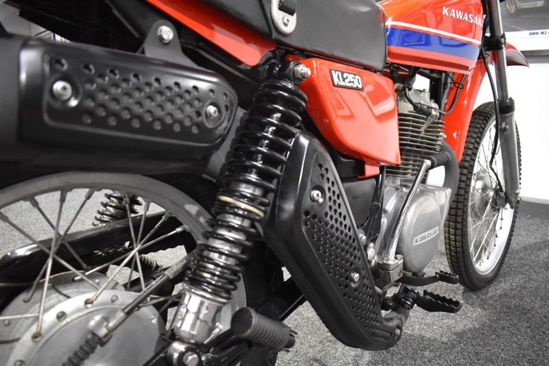 used Kawasaki KL250  in durham