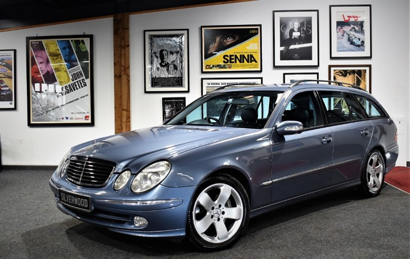 used Mercedes E500 AVANTGARDE in durham