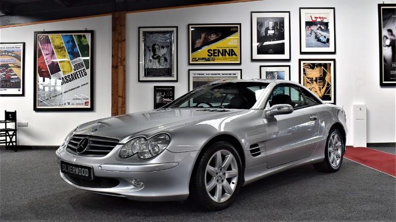used Mercedes SL SL350 in durham