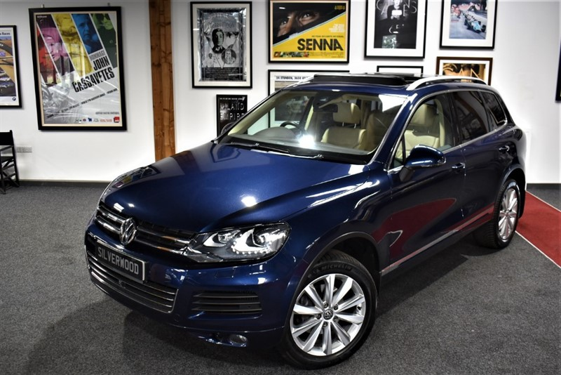 used VW Touareg V6 SE TDI BLUEMOTION TECHNOLOGY in durham