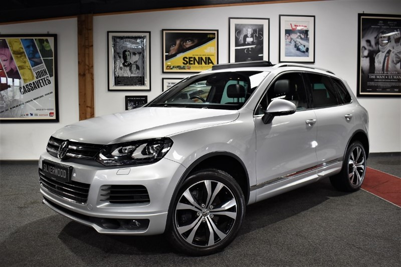 used VW Touareg V8 ALTITUDE TDI in durham