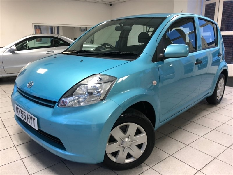 used Daihatsu Sirion S 5dr in tamworth-staffordshire