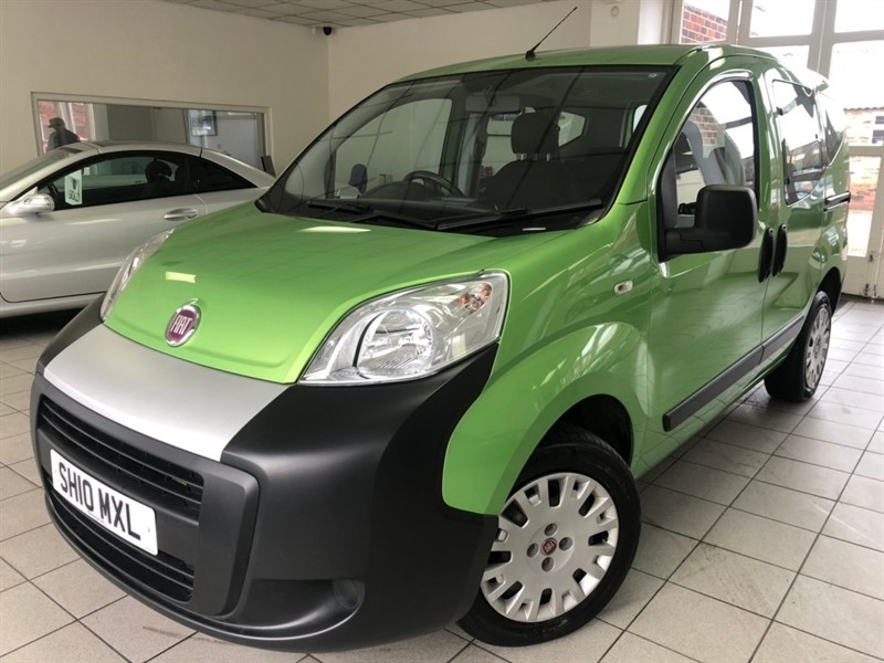 used Fiat Qubo Active MPV 5dr Manual (157 g/km, 73 bhp) in tamworth-staffordshire