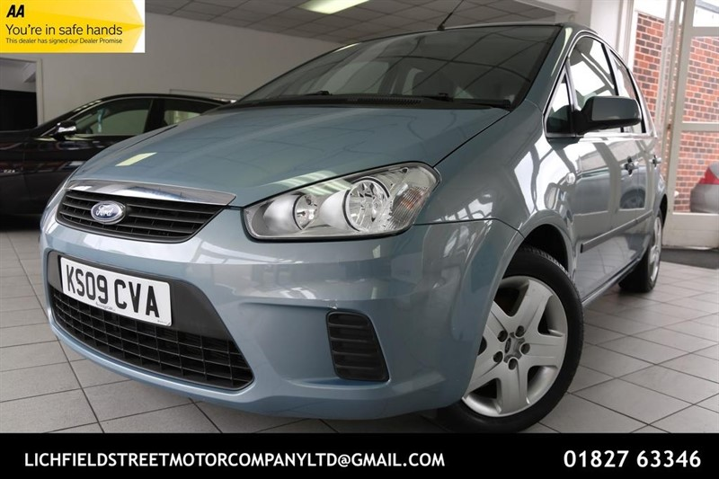 used Ford C-Max 16v Style 5dr in tamworth-staffordshire