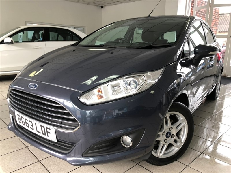 used Ford Fiesta TDCi Zetec 5dr in tamworth-staffordshire