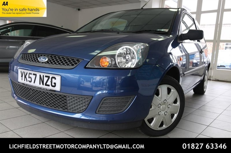 used Ford Fiesta Style 3dr in tamworth-staffordshire