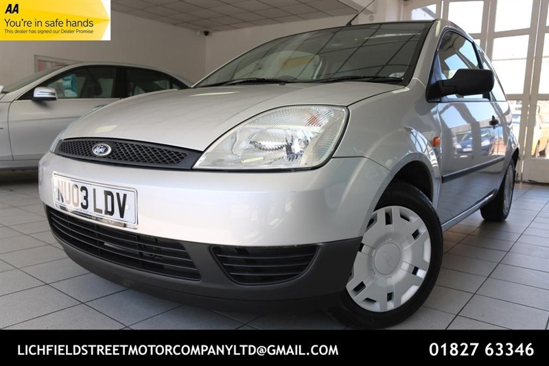 used Ford Fiesta Finesse 3dr in tamworth-staffordshire