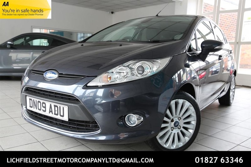 used Ford Fiesta Titanium 5dr in tamworth-staffordshire