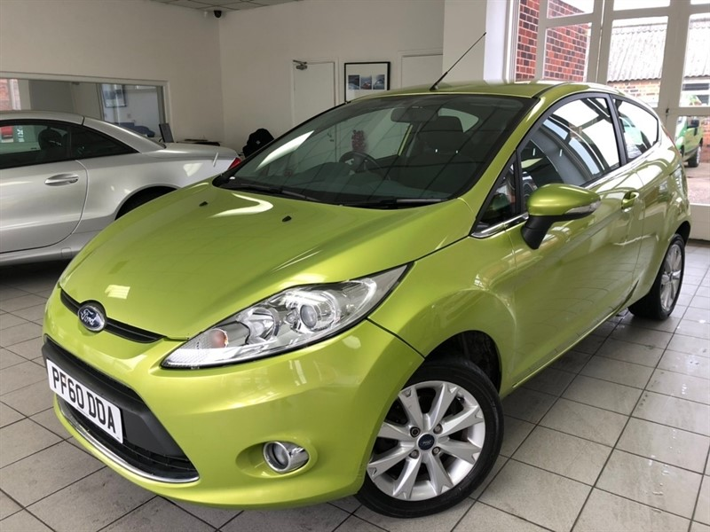 used Ford Fiesta Zetec 3dr in tamworth-staffordshire