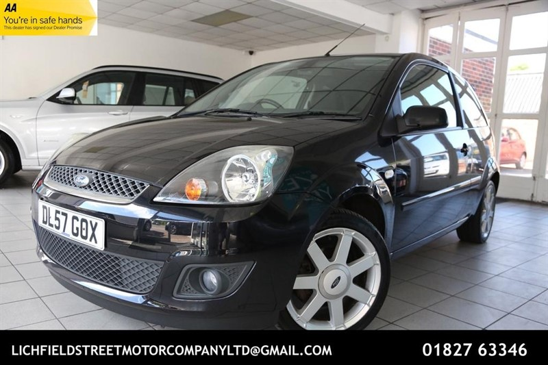 used Ford Fiesta Zetec Climate 3dr in tamworth-staffordshire