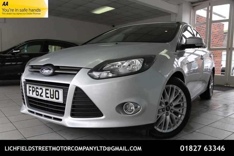 used Ford Focus TDCi Zetec Hatchback 5dr Manual (109 g/km, 113 bhp) in tamworth-staffordshire