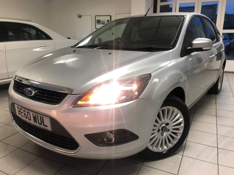 used Ford Focus Titanium 5dr in tamworth-staffordshire