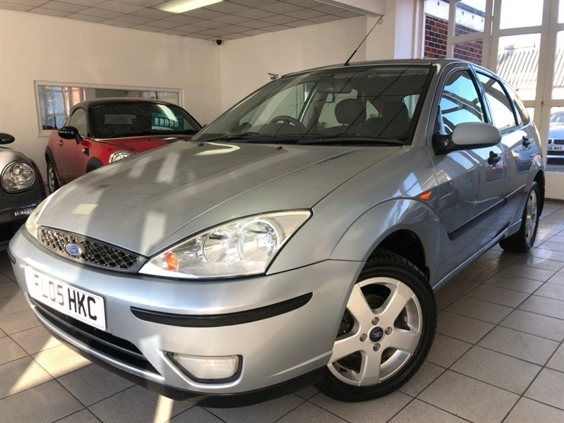 used Ford Focus i 16v Edge 5dr in tamworth-staffordshire