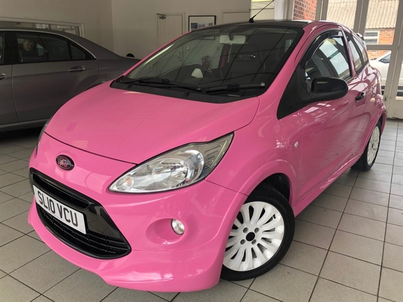 used Ford KA 1.2 Zetec 3dr in tamworth-staffordshire