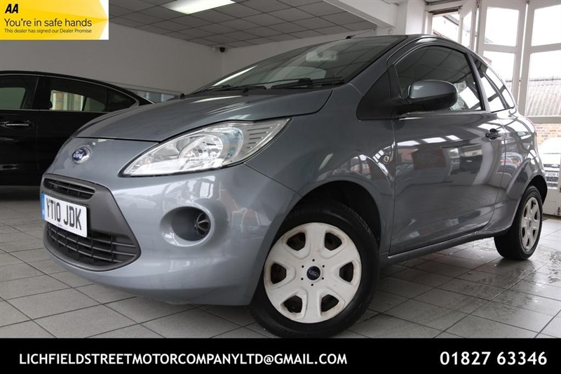 used Ford KA 1.2 Style 3dr in tamworth-staffordshire
