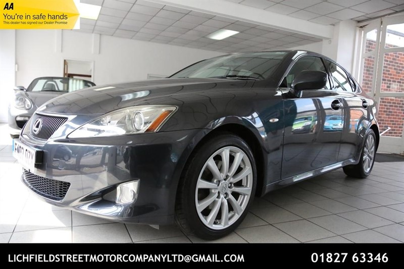 used Lexus IS 250 SE 4dr in tamworth-staffordshire