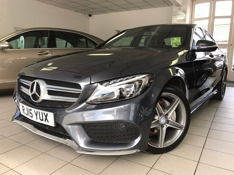 used Mercedes C200 C Class CDI BlueTEC AMG Line 7G-Tronic Plus 4dr (start/stop) in tamworth-staffordshire