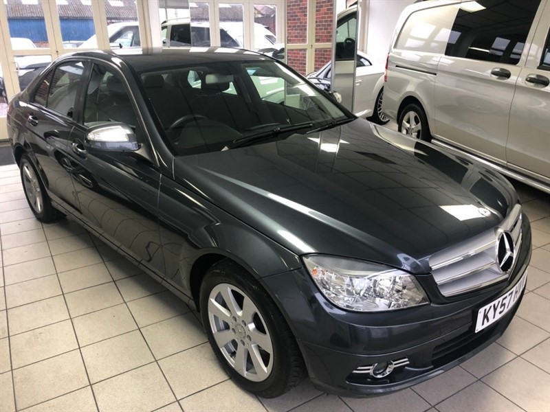 used Mercedes C220 C Class CDI SE 4dr in tamworth-staffordshire