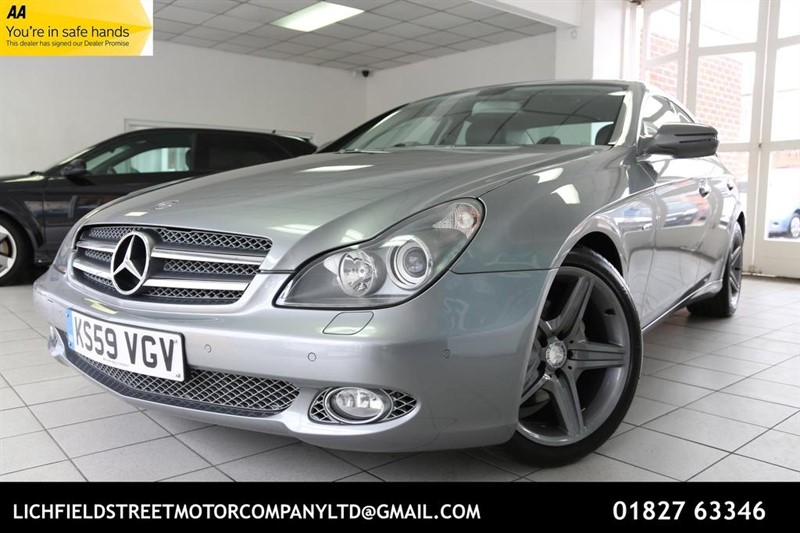 used Mercedes CLS CLS350 CDI Grand Edition 7G-Tronic 4dr in tamworth-staffordshire
