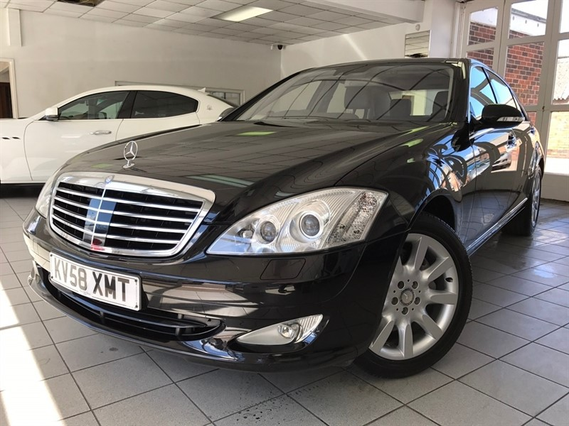 used Mercedes S500 S Class Limousine 7G-Tronic 4dr in tamworth-staffordshire