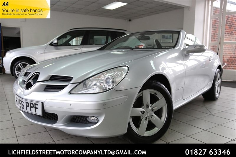 used Mercedes SLK SLK200 Kompressor Sport 2dr in tamworth-staffordshire