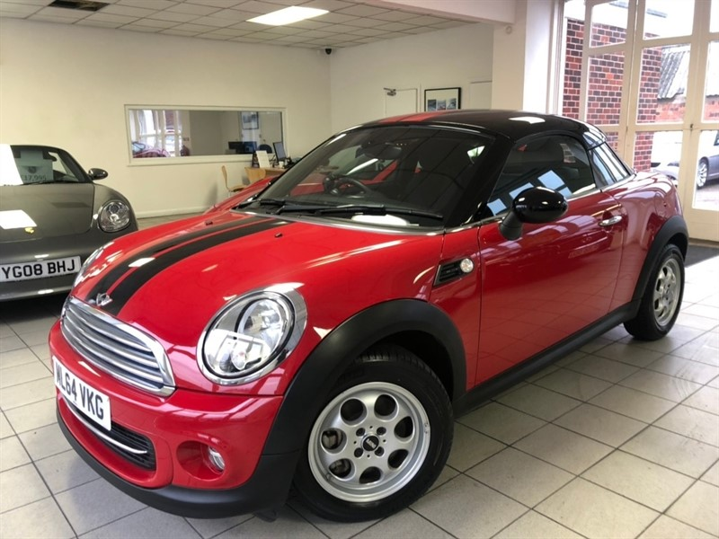 used MINI Coupe Cooper 2dr in tamworth-staffordshire